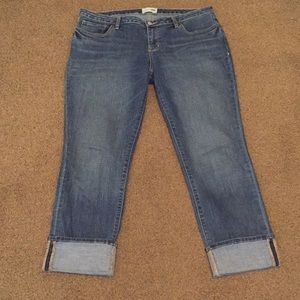 Old Navy Straight Cuffed Jeans